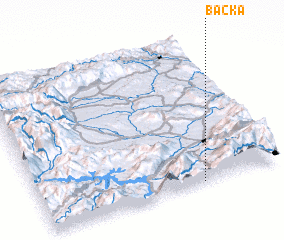 3d view of Bačka