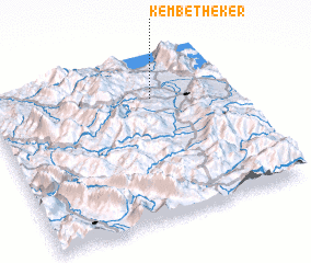 3d view of Këmbëthekër