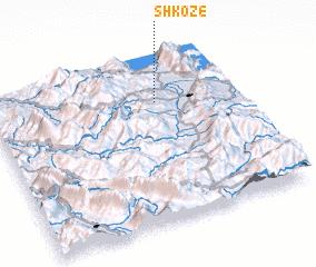 3d view of Shkozë