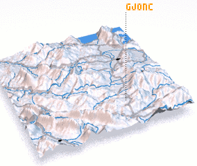 3d view of Gjonç