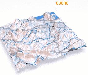 3d view of Gjonç