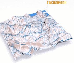 3d view of Taçi i Sipërm
