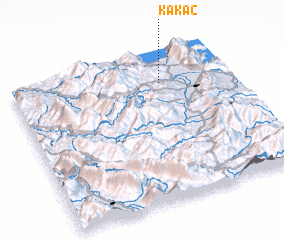 3d view of Kakaç