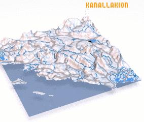 3d view of Kanallákion