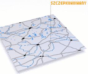 3d view of Szczepkowo Iwany