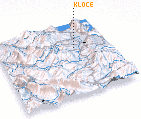 3d view of Klocë
