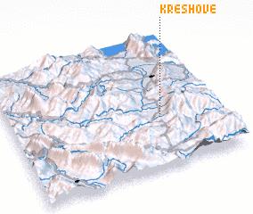 3d view of Kreshovë