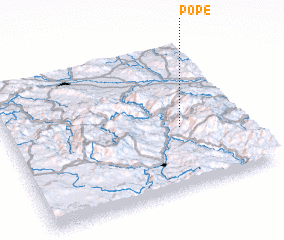 3d view of Pope