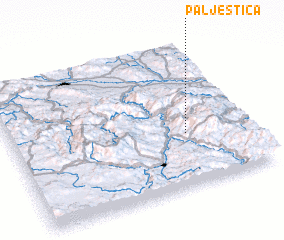 3d view of Palještica