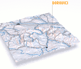 3d view of Ðorovići
