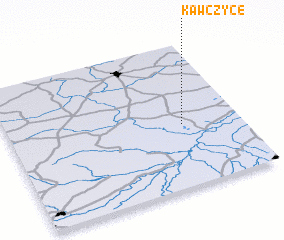 3d view of Kawczyce