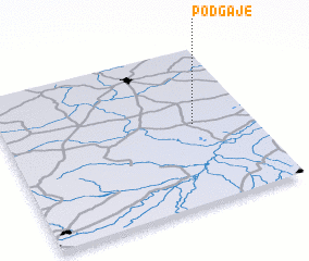 3d view of Podgaje