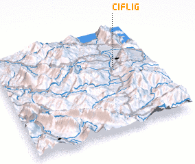 3d view of Çiflig