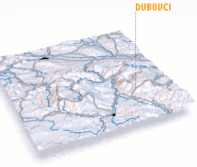 3d view of Dubovci