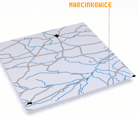3d view of Marcinkowice