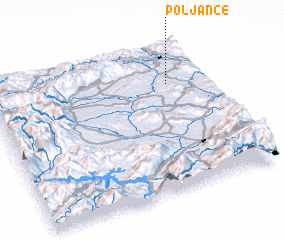 3d view of Poljance
