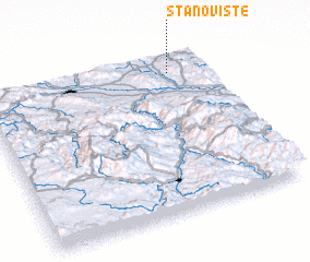 3d view of Stanovište