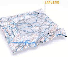3d view of Lapušnik