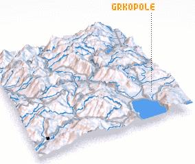 3d view of Grko Pole