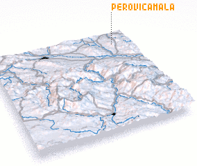 3d view of Perovića Mala