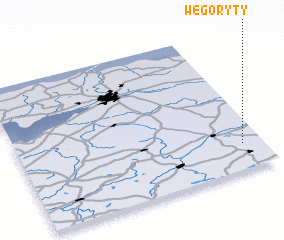 3d view of Węgoryty