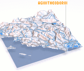 3d view of (( Ágioi Theódoroi ))