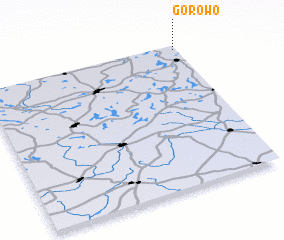 3d view of Górowo