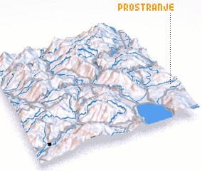 3d view of Prostranje