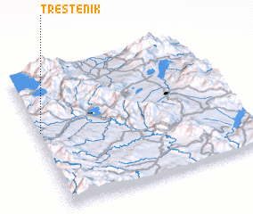 3d view of Trestenik