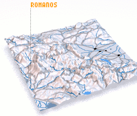 3d view of Romanós