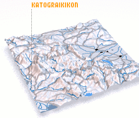 3d view of Káto Graikikón