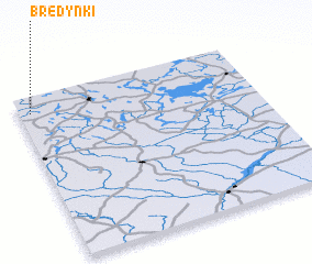 3d view of Bredynki