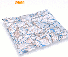 3d view of Sgára