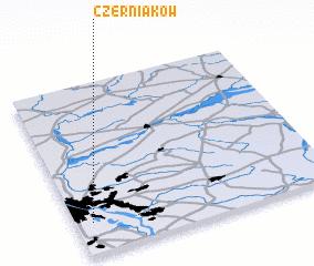 3d view of Czerniaków
