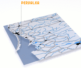 3d view of Pervalka