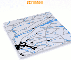 3d view of Szymanów