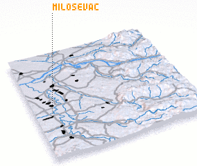 3d view of Miloševac