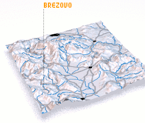 3d view of Brezovo