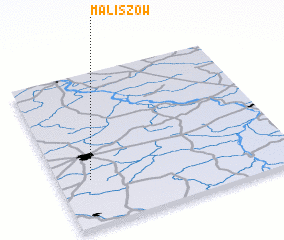 3d view of Maliszów