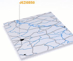 3d view of Jeziorno