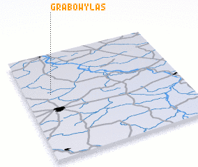 3d view of Grabowy Las