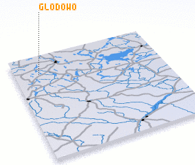 3d view of Głodowo