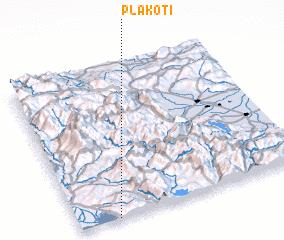 3d view of Plakotí