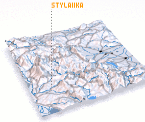 3d view of Stylaíïka