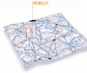 3d view of Pribilci