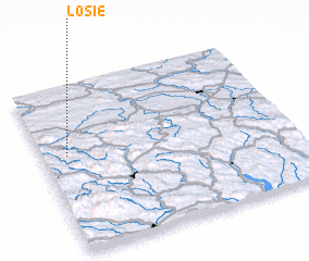 3d view of Łosie