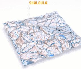 3d view of Skaloúla
