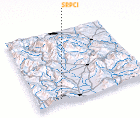 3d view of Srpci