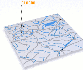 3d view of Głogno