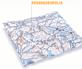 3d view of Péra Nevrópolis